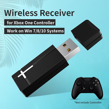2.4G Wireless Adapter Receiver for XBOX One Controller Portable Receiver Transmitter for PC WIN 7/8/10 1