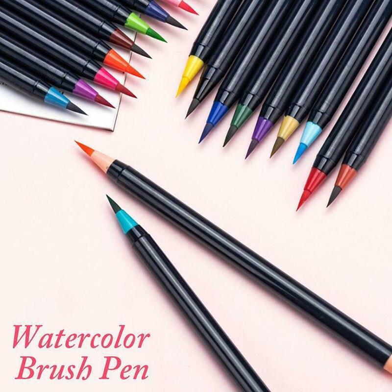 canetas marcadores de agua tinta da arte 02