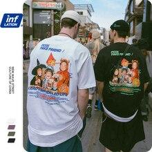 אינפלציה Harajuku מצחיק גברים חולצה футболка мужская כותנה הדפסת גברים חולצה מקרית Loose גברים של חולצה קצר שרוול 1023S20