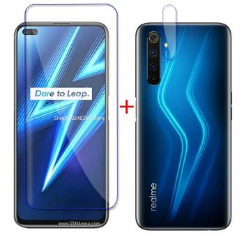 Realme6pro Tempered Glass For Oppo Realme 6 7 Pro 6 6i 7i Back Camera Glass Screen Protector On Realmi 6 Pro Front Safety Hard