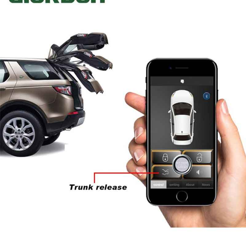 Universal Central Door Lock APP Keyless Entry Automatic Remote Trunk Opening Sensor Auto Smart Key Car Security System <font><b>MP686</b></font> image