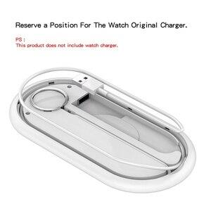 Image 3 - Suntaiho 10W Schnelle Qi Drahtlose Ladegerät Für Iphone XS XR X 8 11Pro Max Drahtlose Ladestation Für Apple airpods Uhr 5 4 3 2 1