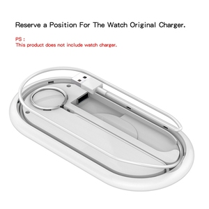 Image 3 - Suntaiho cargador inalámbrico rápido Qi para Iphone XS, XR, X, 8, 11Pro Max, estación de carga inalámbrica para Apple Airpods Watch 5, 4, 3, 2, 1, 10W
