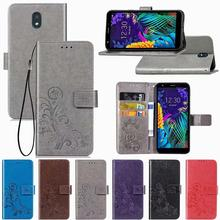 Leather Flip Wallet Case Stand Cover Case For LG Q6 a Alpha Q6a M700 Luxury mobile