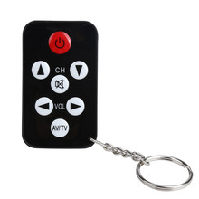 TV Mini Keychain Universal Remote Control for Philips Sony P