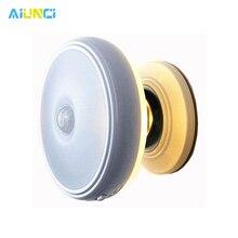 Star Rain lampa z czujnikiem ruchu 360 stopni obrotowy akumulator magnetyczny LED lampka nocna lampka na ścianę do schodów kuchnia oświetlenie toalety
