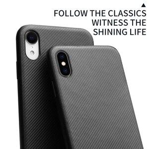 Image 5 - QIALINO funda de fibra de carbono para Apple iPhone X/XS, carcasa ultrafina con sensación de fibra de carbono para iPhone XR/XS Max
