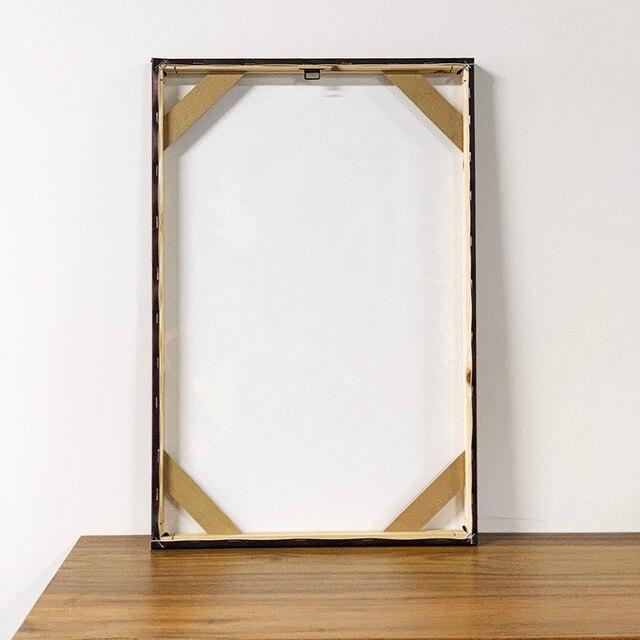 Jotaro Kujo Star Platinum JoJo Poster Framed Wooden Frame Canvas Wall Art Decoration prints Dorm bedroom decor Painting 4