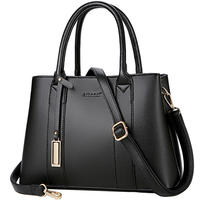 High Quality Genuine Leather Handbag Women Fashion Handbags Female Shoulder Bag Lady Totes Bag For Women 2019 Business Bolsa Sac