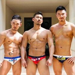 Troncos de natação dos homens sexy triângulo de alta qualidade cuecas de banho gay homem maiô praia surf bikini shorts masculino natação terno