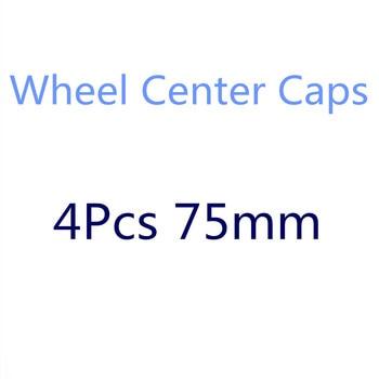 4Pcs 75mm Car Wheel Hub Cap Caps Center Emblem For Mercedes Benz A B C E M CLA CLC CLS CLK Class W212 W210 W220 W203 W204 W205