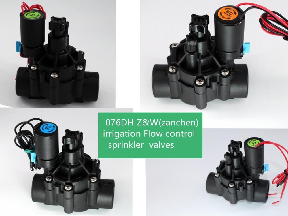Kostenloser versand Z & W/Rainbird 24vAC 24VDC 9v DC Latich 220vAC 110VAC Bewässerung sprinkler ventil 3/ 4 zoll