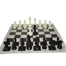 Chess-Game-Set International Plastic King Large 97mm Standard New with 4 Competition