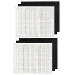 2Pcs Air Purifier Filter Activated Carbon Cotton Replacement Kit Fit for Coway AP1512Hh Air Cleaner