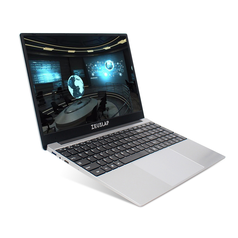 15.6 Inch Laptop Intel I7 8GB RAM 64GB 128GB 512GB 1000GB SSD Notebook Windows 10 Pro 1920X1080P Student Gaming Laptop