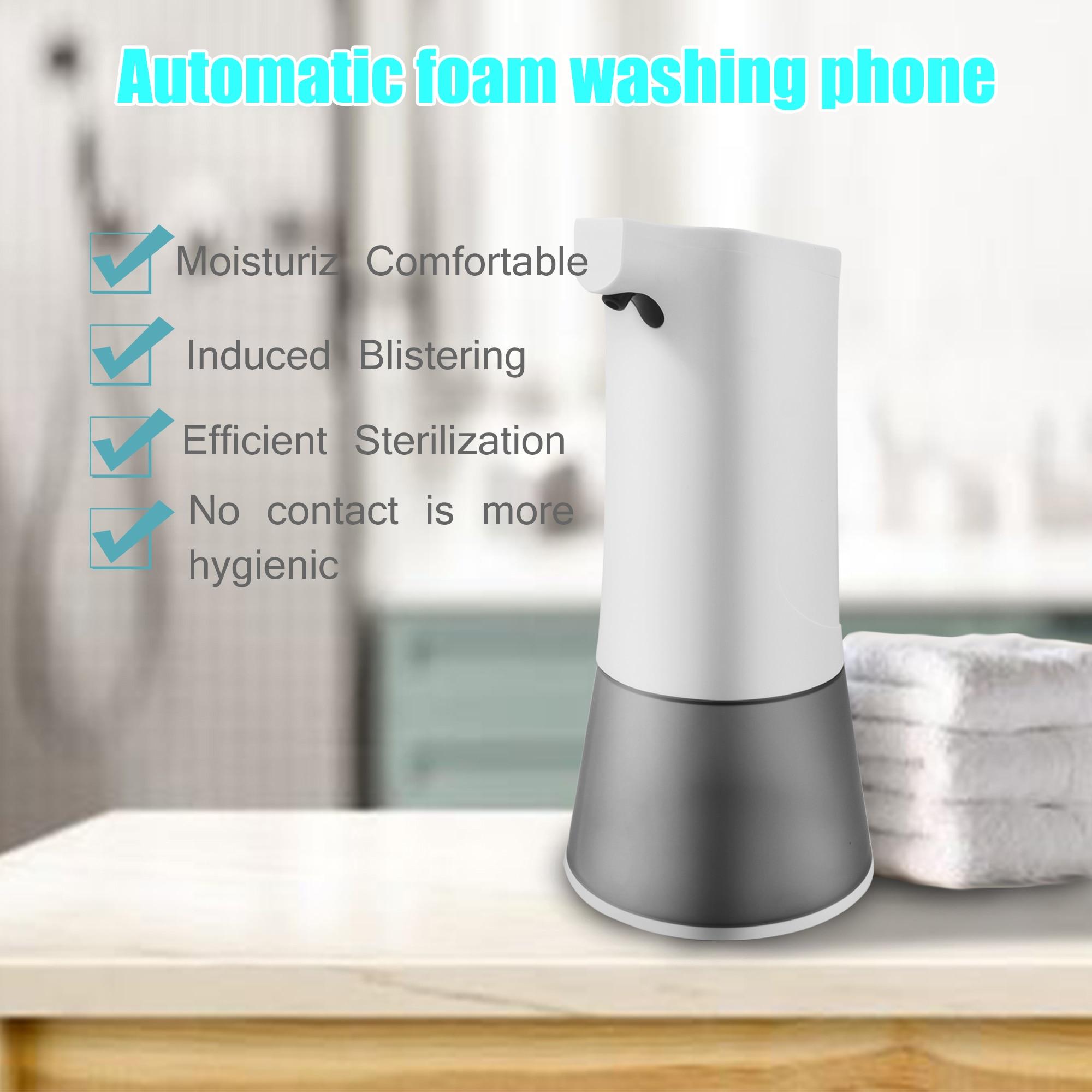 PANDUN Fully automatic foam mobile phone smart sensor soap dispenser child antibacterial hand sanitizer rechargeable