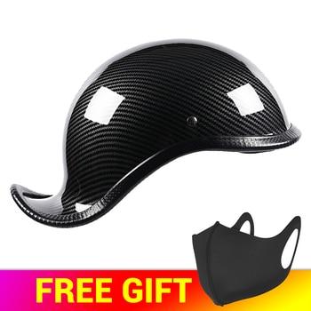 HEROBIKER New Motorcycle Helmet Open Face Retro Half Helmet  Motorbike Helmet Motorcycle Racing Off Road Helmet Casco Moto Capac