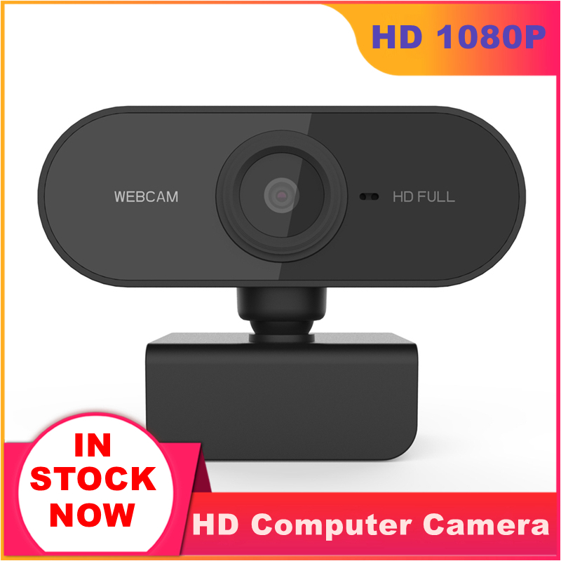 Mini Webcam 1080P HD USB Web Camera For Computer With Microphone Web Cam Laptop Online Teching Conference Web Cameras 360 Rotaed