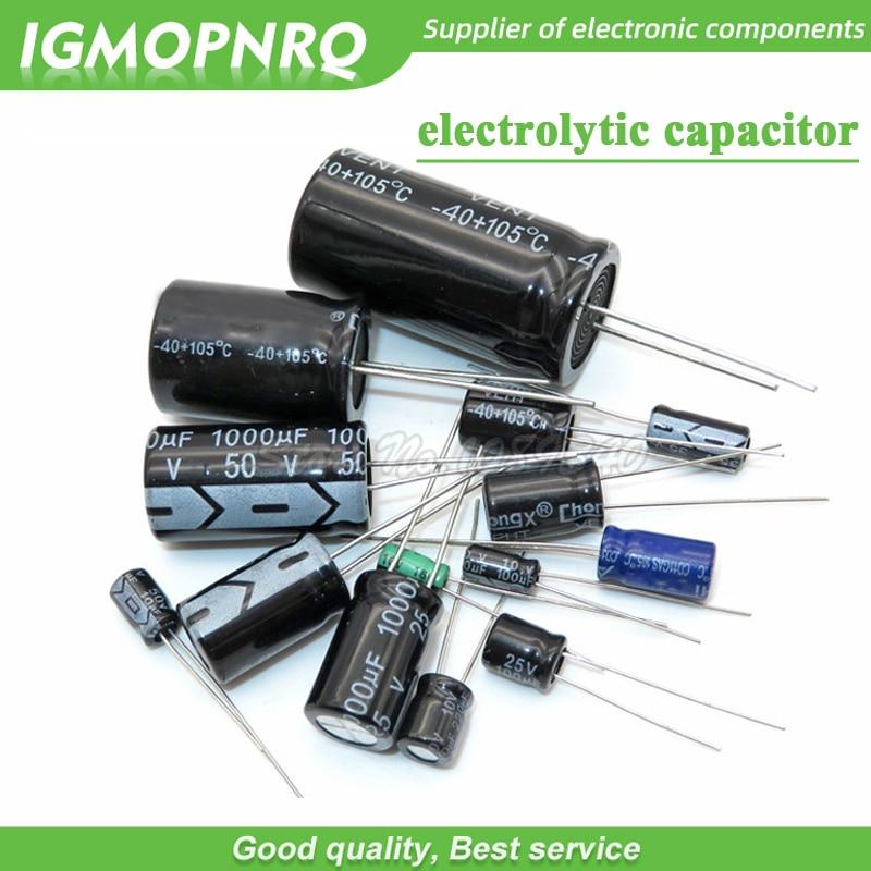 25pcs SMD Aluminium Electrolytic Capacitor 10V 33uF 5x5mm