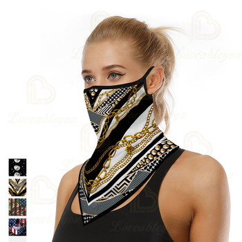 New Design Triangle Headband Neck Head Scarves Ear Cover Face Shield Scarf Breathable Bandana Half Face Guard Men Women new design triangle headband neck head scarves ear cover face shield scarf breathable bandana half face guard men women