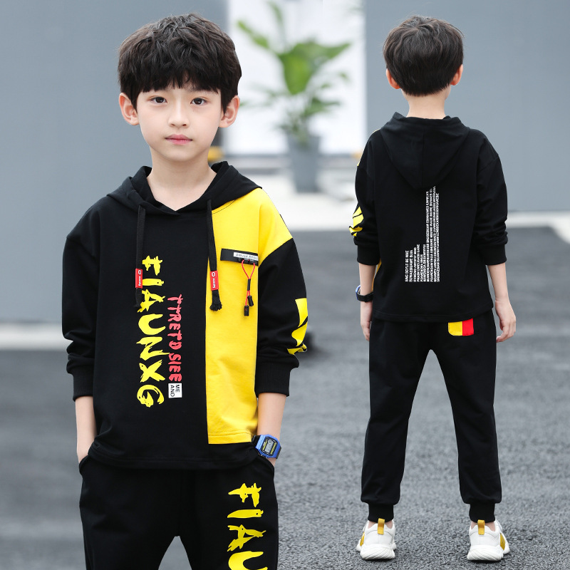 2020 meninos roupas conjunto moletom calças de treino inverno outono crianças esporte terno crianças roupas 7 8 9 10 11 12 13 14 15 ano
