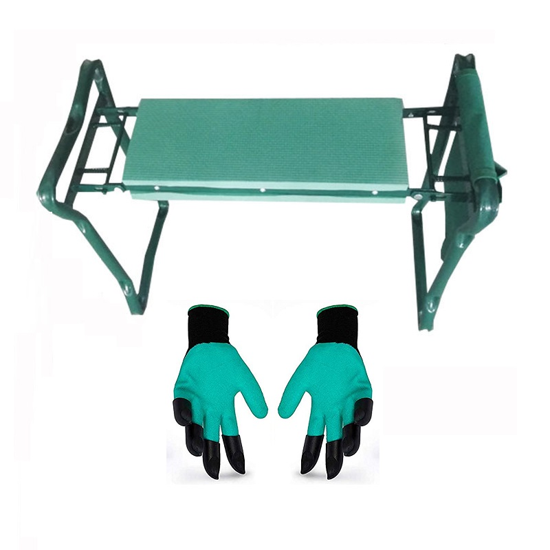 Folding Garden Kneeler And Seat Foldable Stool Sturdy and Lightweight Bench Garden Stool Gifts Supply Dropshipping