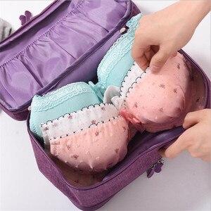 Image 3 - Organizador de ropa interior para sujetador, organizador de cajones, divisores de almacenamiento de viaje, caja, bolsa, calcetines, estuche de tela, ropa, armario, accesorios, suministros
