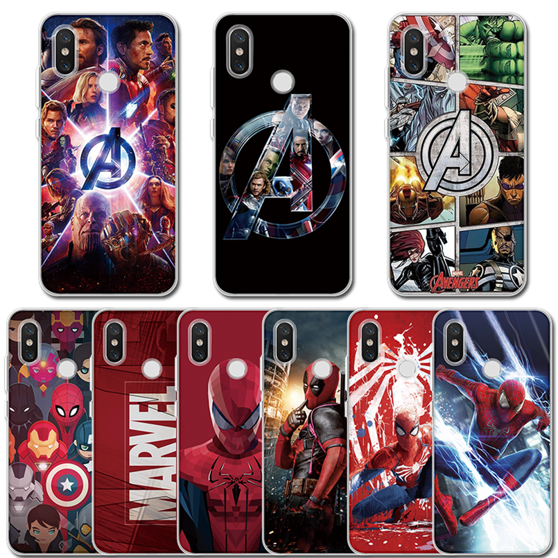 Avengers End 4 Clear Case For Xiaomi Redmi Note 8 7 6 5 Pro 8T 3 4X 5 Plus 3S 4A 5A 6A 7A 8A S2 Go K20 K30 Marvel TPU Back Cover