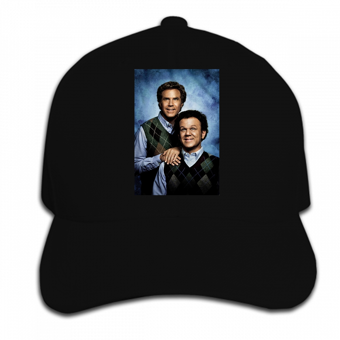 Print Custom Baseball Cap New Step Brothers Will Ferrell John C. Reilly Mens Movie Poster Hat Peaked cap image