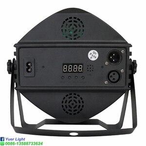 Image 4 - 2 ピース/ロット dj 機器 36X3W led uv パーライト uv ステージライトバイオレット led バーレーザー投影照明パーティークラブディスコライト