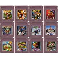 16 Bit wideo kartridż z grą karta konsoli dla Nintendo GBC RPG w gra fabularna serii język angielski Edition