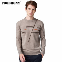 COODRONY Brand Pure Merino Wool Sweater Men Autumn Winter Thick Warm Soft Cashmere Pullover Men Fashion O-Neck Pull Homme 93021 coodrony brand pure merino wool sweater men autumn winter thick warm soft cashmere pullover men fashion o neck pull homme 93021