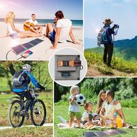 Портативная солнечная панель для туриста/походов