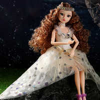 Muñecas BJD con vestido de princesa para niñas, juguetes de 30CM, 12 signos de constelación, estilo BJD, juguete DIY de encaje para regalos de cumpleaños, 1/6