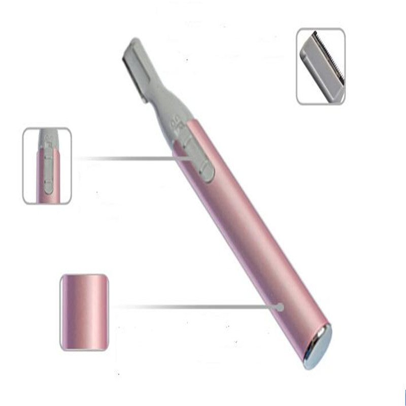 Micro Precision Electric Eyebrow Razor Women Brow Trimmer Bikini Facial Haircut Shave Removal Lady Underarm Shaver Clipper Cut