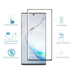 Image 3 - 9D Camera Glass For Samsung Galaxy Note 10 Pro Tempered Glass Screen Protector For Samsung Galaxy Note10 Plus Note 9 8 Lens Glas