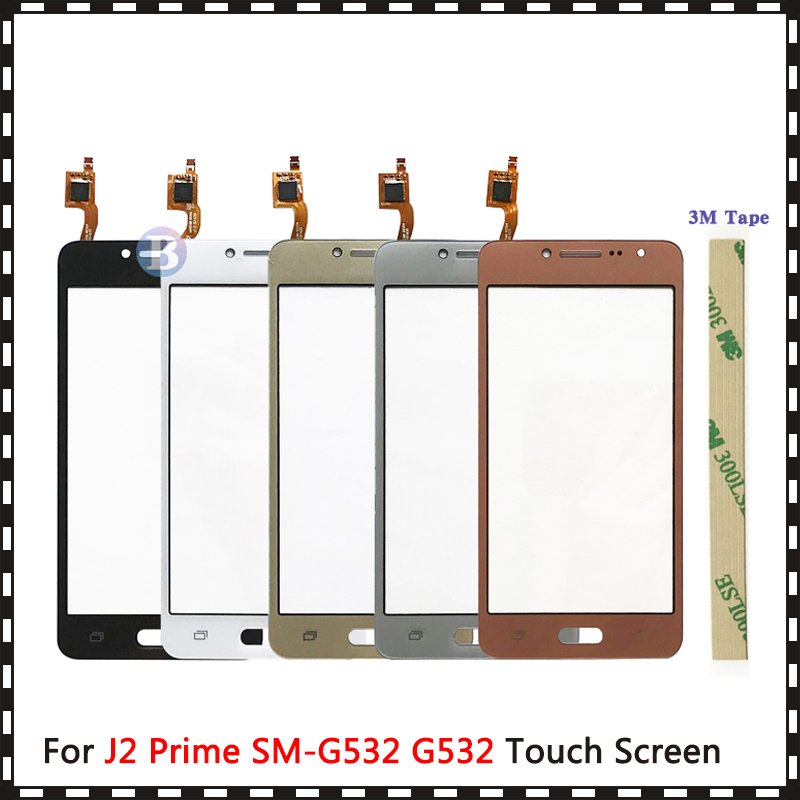 "AAA High Quality 5.0"" For Samsung Galaxy J2 Prime Duos SM-G532 G532 Touch Screen Digitizer Sensor Outer Glass Lens Panel(China)"