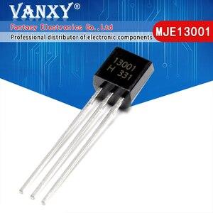 Image 1 - 100PCS MJE13001 TO 92 13001 TO92 E13001 new triode transistor