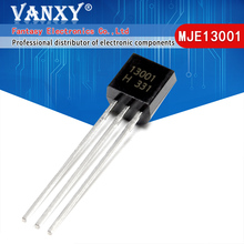 100PCS MJE13001 TO 92 13001 TO92 E13001 nuovo triodo transistor