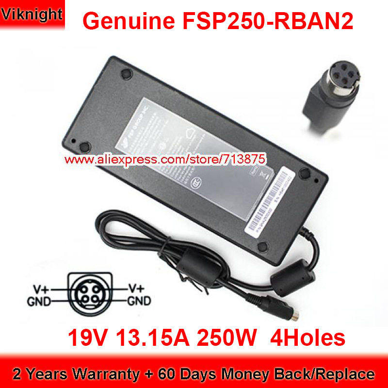 Genuine FSP FSP250-RBAN2 19V 13.15A 250W Laptop Charger for Pioneer DREAMBOOK POWER P18 SLI Power Supply