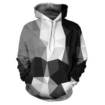 3D Print funny New Cool Geometric pattern Sweatshirt Hoodies Unisex Sweatshirt Hip-hop Fashion Streetwear Men and women Hoodies 2
