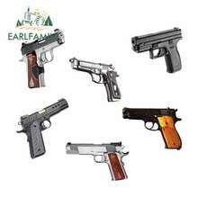 EARLFAMILY – autocollant Graffiti pour Kimber 11.3, accessoires de voiture, pistolet, ordinateur portable, pare-choc, 13cm x 1911 cm, Rapide 10mm