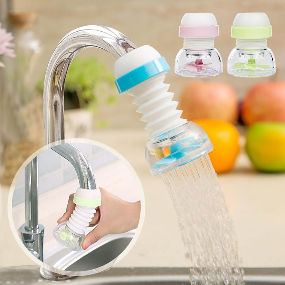 Kitchen Adjusting 360 Degree Rotate Water Saving Bath Shower Head Faucet Spouts Sprayers Filter Purifier Nozzle Tap Accessories