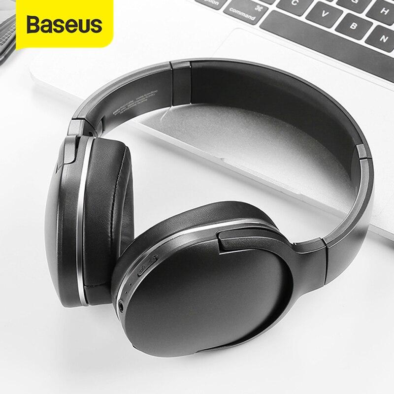 Baseus D02 Bluetooth наушники Складные bluetooth гарнитура  беспроводные наушники портативные bluetooth наушники с микрофоном для  телефонаНаушники и гарнитуры