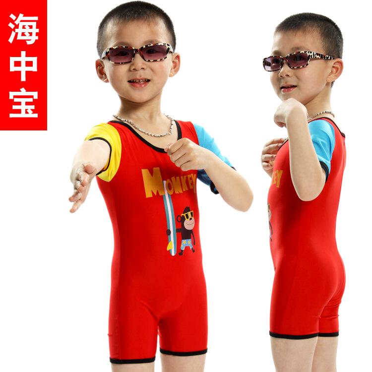 Manufacturers Direct Selling Naughty Monkey One-piece Men And Women Children Surfing Swimsuit YE-1290 1293 8902