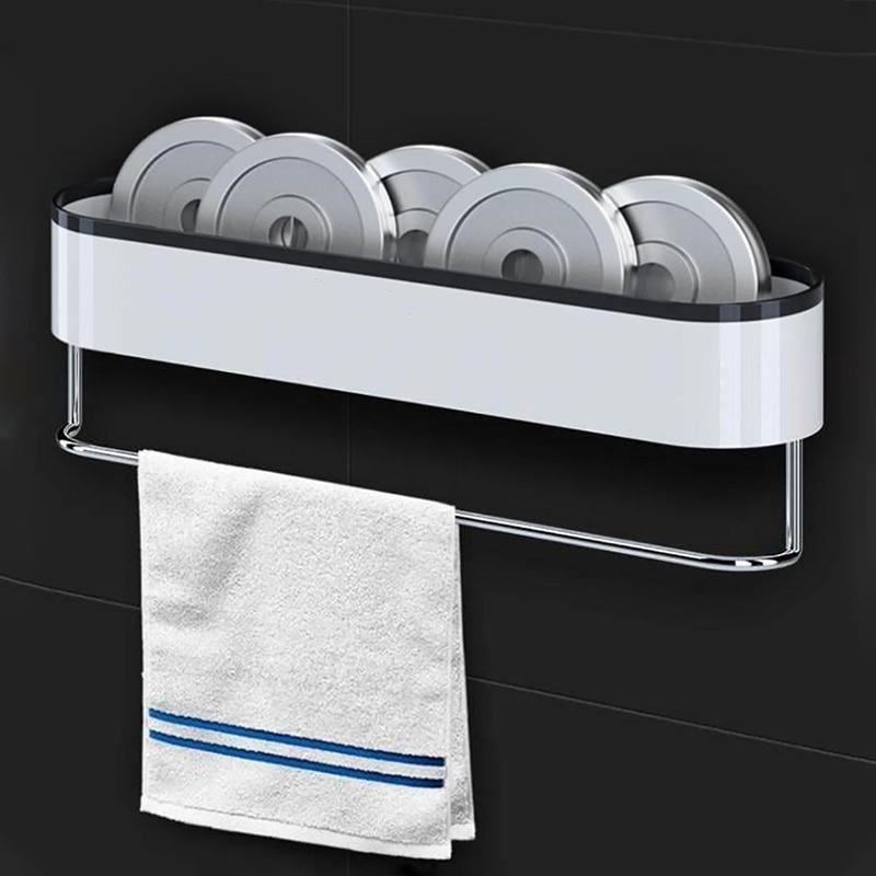 Clearance SaleåGESEW Storage In The Bathroom Wall-mounted Storage Racks Towel Bath Organizer For Kitchen