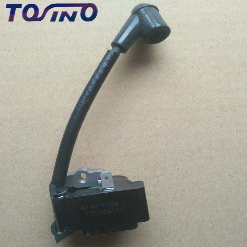 2 pcs Original Ignition Coil For <font><b>STIHL</b></font> FS55 FS55C FS46 FC55 <font><b>FS38</b></font> FS45 FS55 HL45 HS45 Grass trimmer BRUSH CUTTER LAWN MOWER <font><b>PARTS</b></font> image