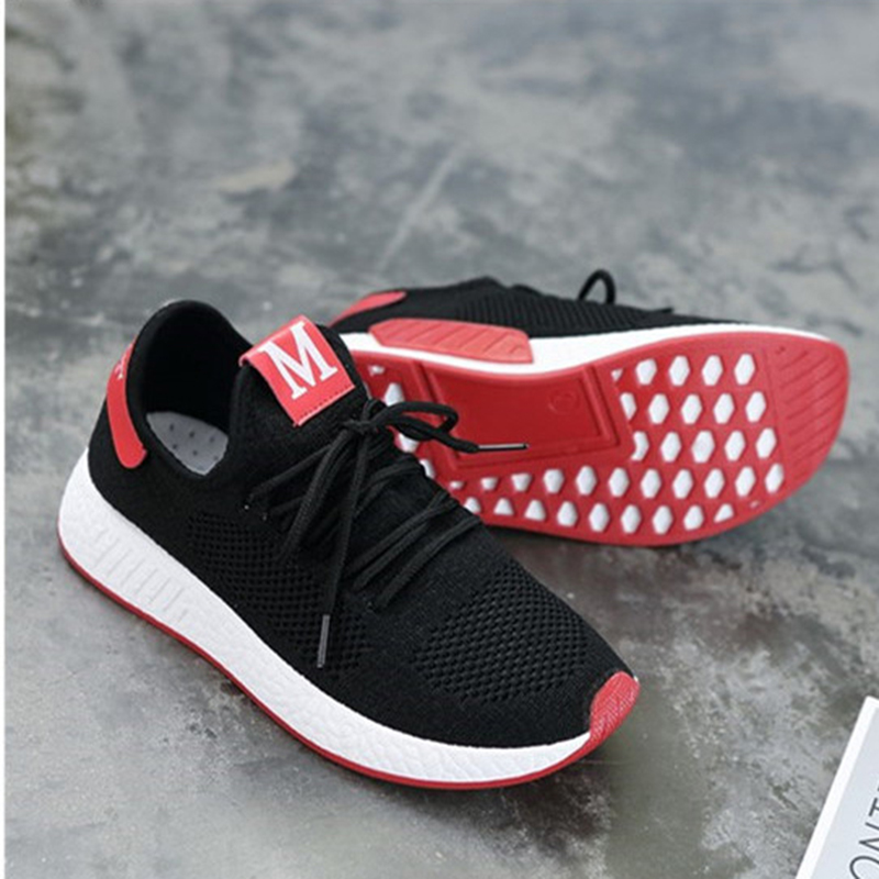 Lightweight Comfortable Lace-up Women's Shoes New Fashion Mesh Women's Vulcanize Shoes Casual Sneakers Zapatos Mujer VT657 (7)