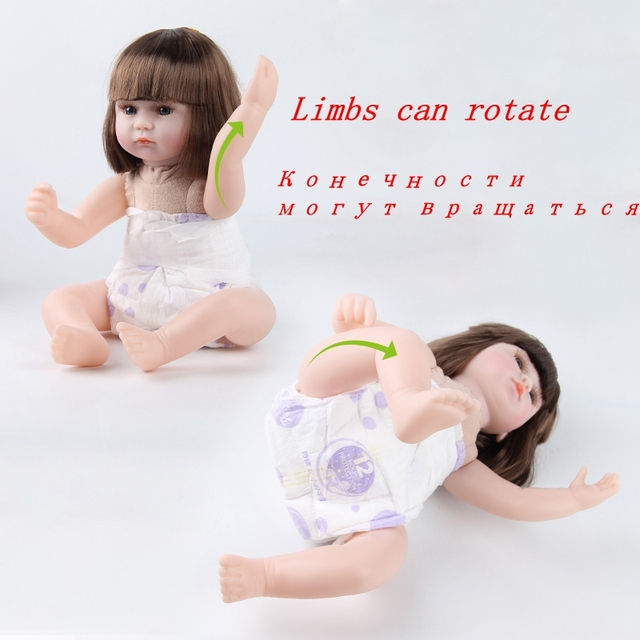 Reborn Baby lalki 42CM Baby Reborn lalki zabawki dla dziewczynek śpiące towarzyszyć lalki niższa cena urodziny prezent świąteczny