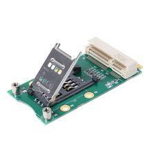 цена на Mini PCI-E Adapter with SIM Card Slot for 3G/4G WWAN LTE GPS Card Mini PCI-e Adapter